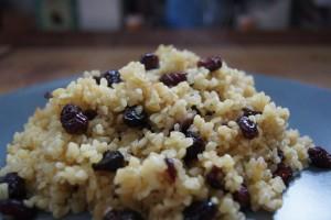 Couscous mit Cranberry