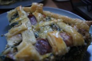 Spinat Käse Quiche