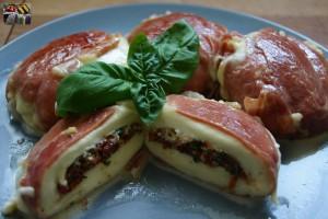 gefüllter Mozzarella