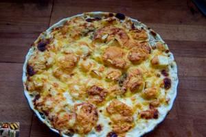 Kartoffel Sellerie Auflauf mit Äpfeln2