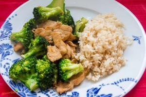 Brokkoli Hühnchen 1