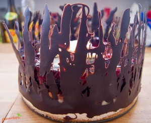 Mandel Kirsch Torte 3