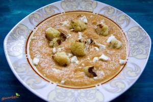 Paprika Blumenkohlsuppe geröstet 1