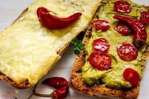 Brasiianisches Guacammole Sandwich 1