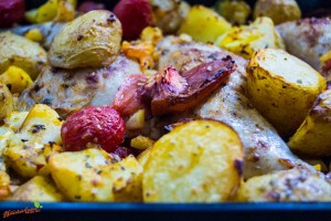 Kartoffel Tomaten Hähnchen Auflauf 2