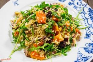 Kürbis Couscous Salat lauwarm 2