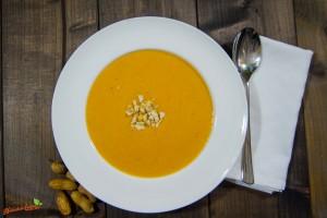 Süßkartoffel Erdnuss Suppe 2