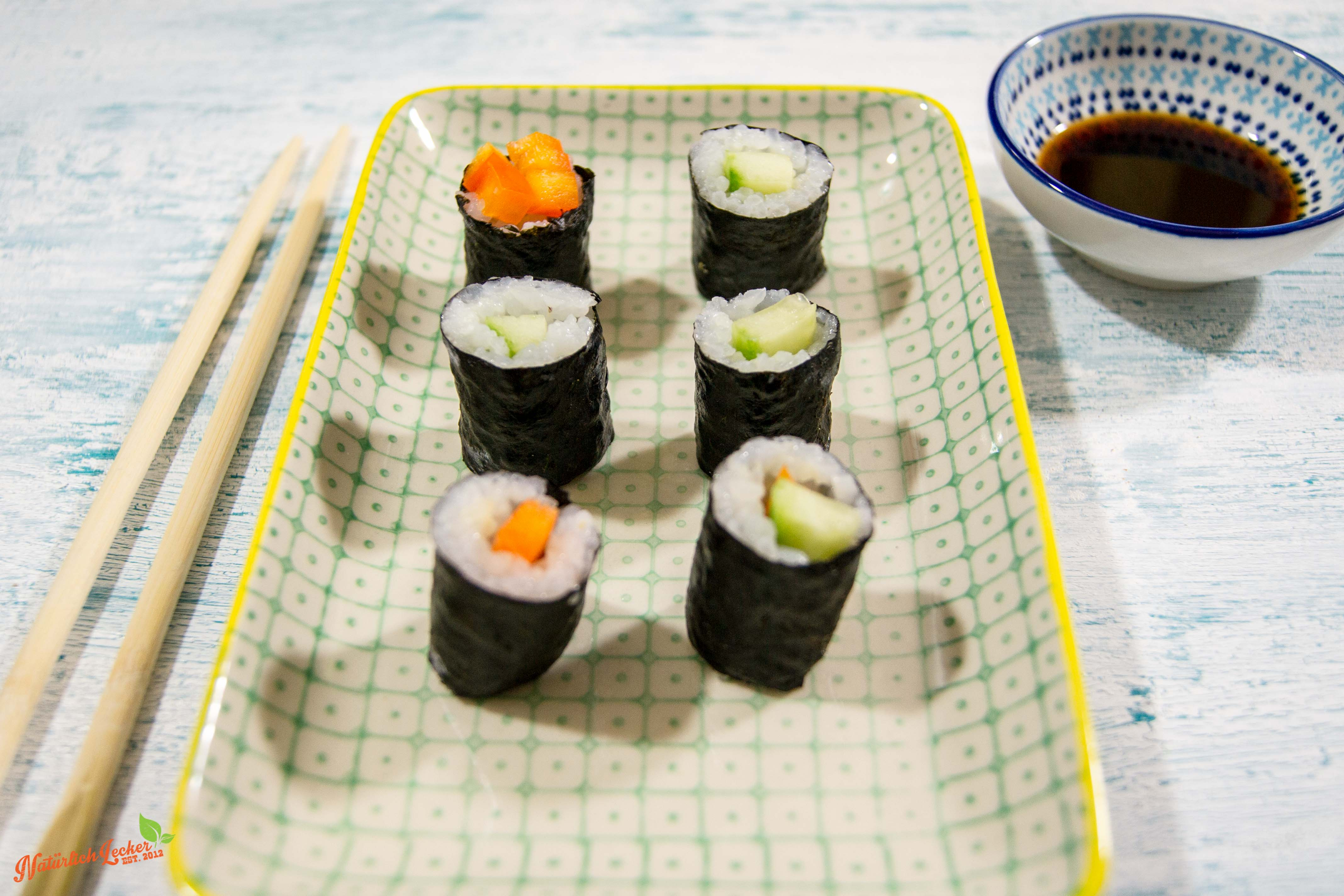 hoso maki sushi selber machen nat rlich lecker. Black Bedroom Furniture Sets. Home Design Ideas