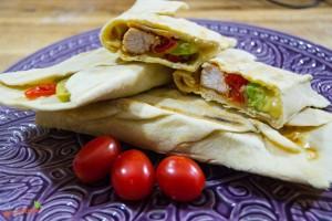 burrito hähnchen