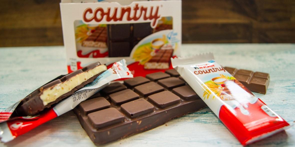 kinder country selber machen schokolade mit cerealien nat rlich lecker. Black Bedroom Furniture Sets. Home Design Ideas