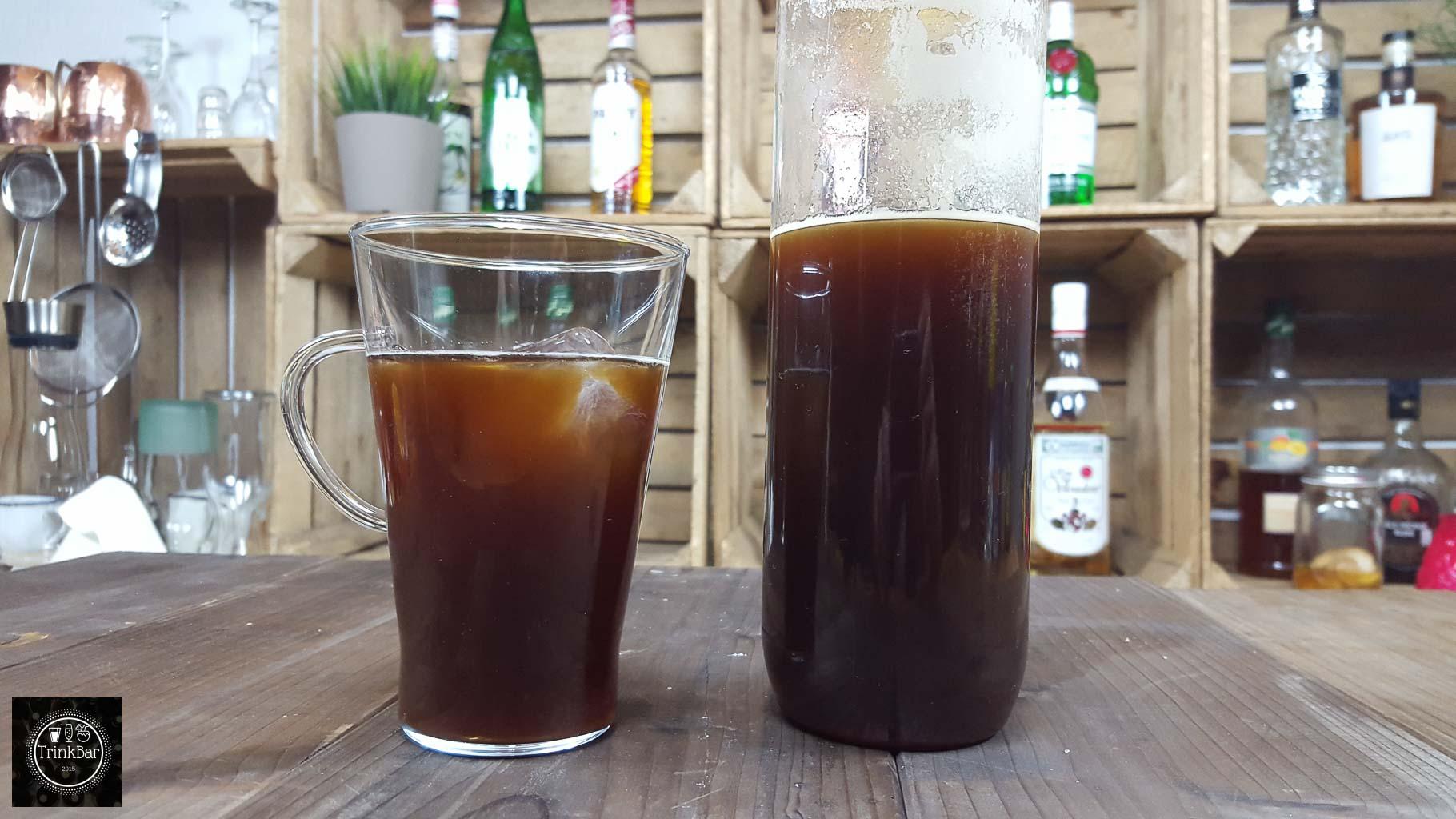 kaltgebr hter kaffee selber machen cold brewed coffee trinkbar nat rlich lecker. Black Bedroom Furniture Sets. Home Design Ideas