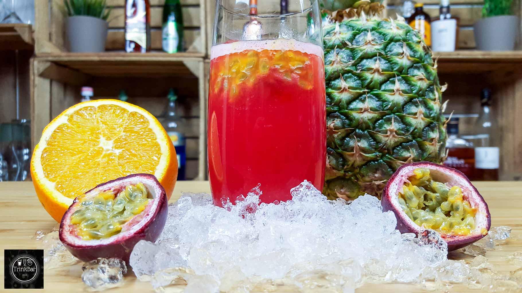Targa 911 alkoholfreier cocktail trinkbar nat rlich for Cocktail 7cl