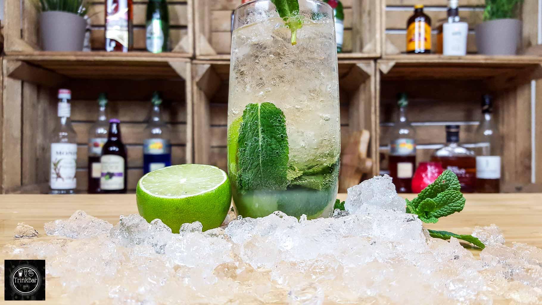 ginger mojito alkoholfreier cocktail trinkbar nat rlich lecker. Black Bedroom Furniture Sets. Home Design Ideas